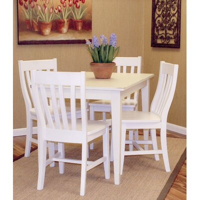 Buy Low Price Carolina Cottage Prairie 5 Piece Dining Set (CN1041)