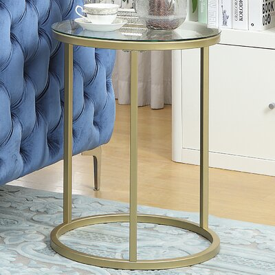 Haddon Heights Contemporary Round End Table