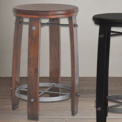 Mountainside 24 Bar Stool Finish: Chestnut
