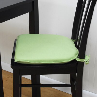 Tailor Dining Chair Cushion Color: Fern Green