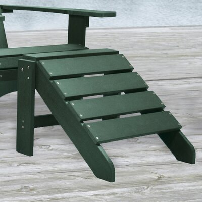 Laguna Adirondack Ottoman Finish: Hunter Green