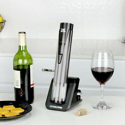 Kalorik 2-in-1 Stainless Steel Wine Opener & Preserver CKS 40792