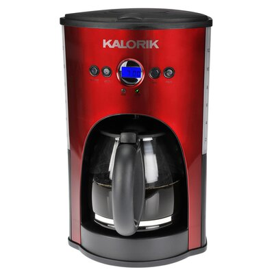 Kalorik Programmable 12 Cup Coffee Maker - Color: Red at Sears.com