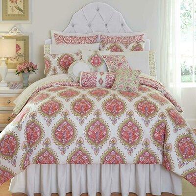 Capri Reversible Comforter Size: Twin