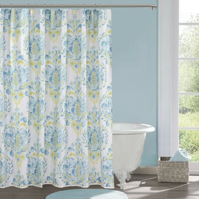 Breeze Cotton Shower Curtain