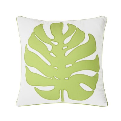 Palm Court Giant Ginko Decorative Cotton Throw Pillow
