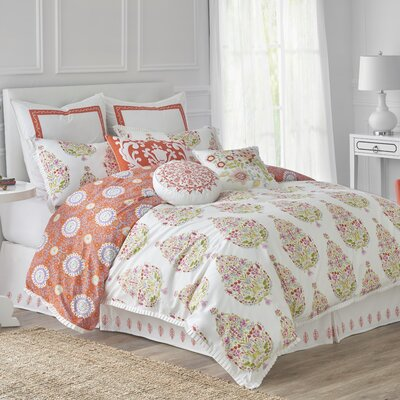 Santana Duvet Cover Size: King
