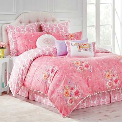 Amara Reversible Comforter Set Size: King