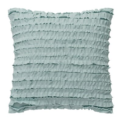 Luna Ruffle Row Cotton Throw Pillow