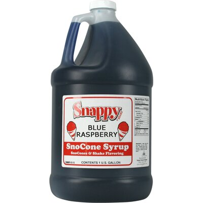Snappy Popcorn 1 Gallon Snow Cone Syrup - Flavour: Blue Raspberry at Sears.com