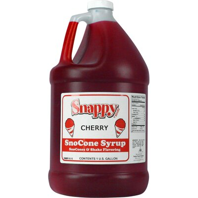 Snappy Popcorn 1 Gallon Snow Cone Syrup - Flavour: Cherry at Sears.com