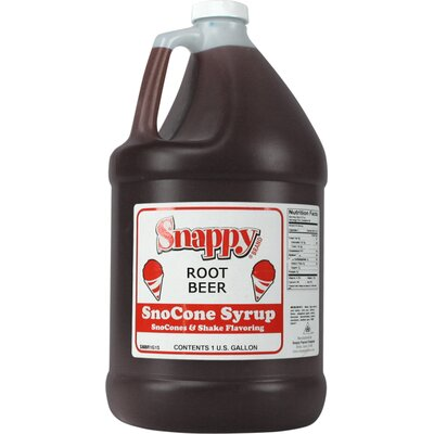 Snappy Popcorn 1 Gallon Snow Cone Syrup - Flavour: Root Beer at Sears.com
