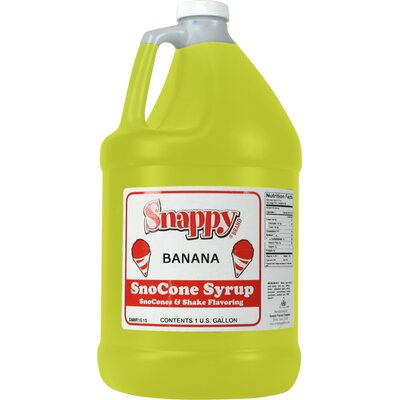 Snappy Popcorn 1 Gallon Snow Cone Syrup - Flavour: Tiger's Blood at Sears.com