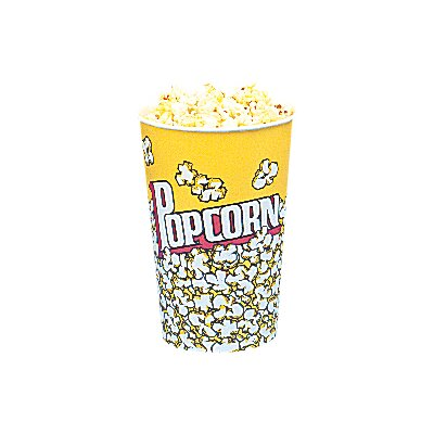 Yellow Popcorn Cups Size: 24 Oz (50 Count) 5001CT