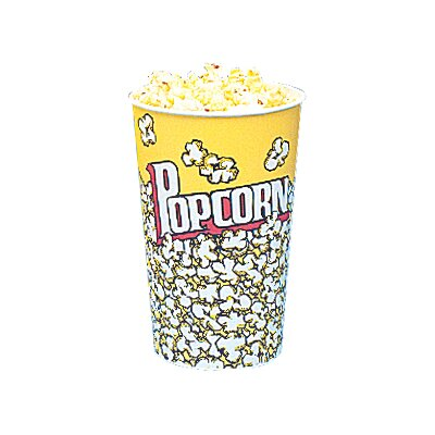 Yellow Popcorn Cups Size: 32 Oz (50 Count) 5002CT