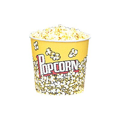 Yellow Popcorn Cups Size: 85 Oz (25 Count) 5004CT