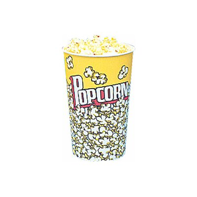 Yellow Popcorn Cups Size: 46 Oz (50 Count) 5003CT