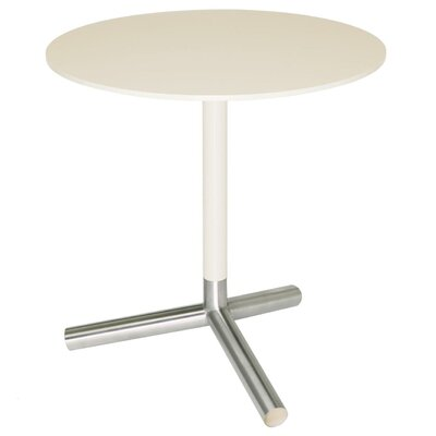 Sprout End Table Top and Stem: Ivory