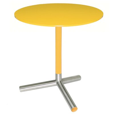 Sprout End Table Top and Stem: Yellow