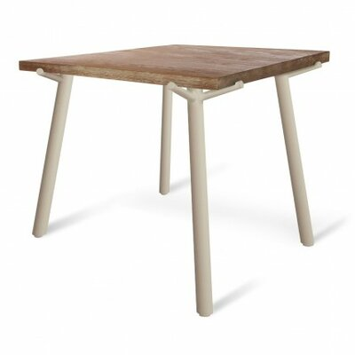 Branch Square Dining Table Base Finish: Grey