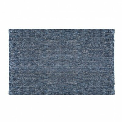 Golf Denim Blue Indoor/Outdoor Area Rug Rug Size: 5 x 8