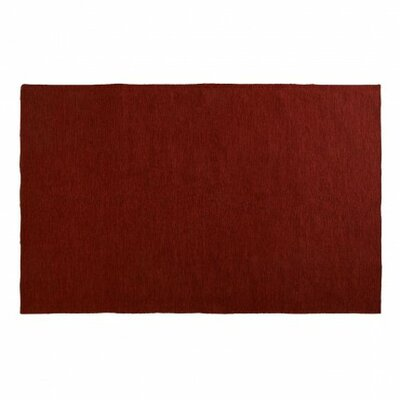 Golf Paprika Red Indoor/Outdoor Area Rug Rug Size: 5 x 8