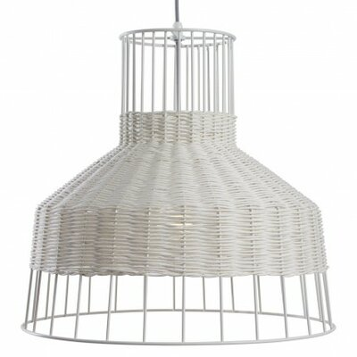 Laika 1-Light Medium Pendant Color: White