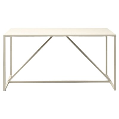 Strut Table Table Size: Medium - 56, Table Color: Ivory