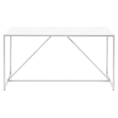Strut 56 Table Finish White