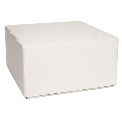 Blockoid Ottoman Upholstery: White