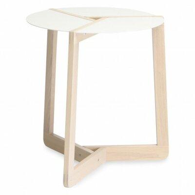 Pi Small End Table Size: Large, Finish: White Ash