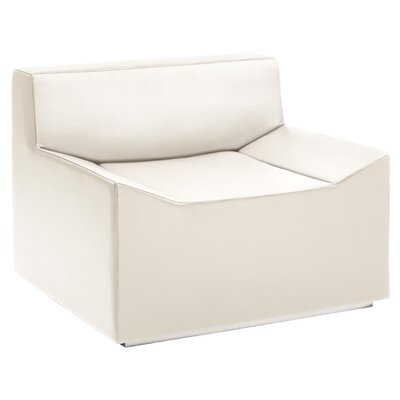 Couchoid Lounge Chair Upholstery: White