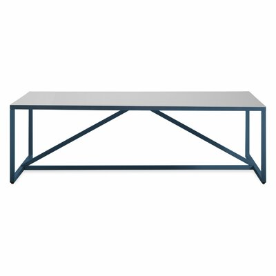Strut Square Coffee Table Finish: Navy