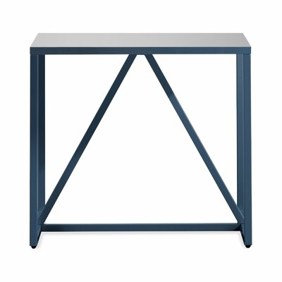 Strut End Table Finish: Navy