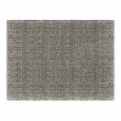 Dollop Lavender Grey Area Rug Rug Size: 3 x 5