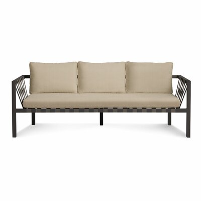 Jibe 3 Seat Outdoor Sofa with Cushions image