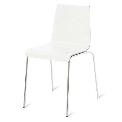 Chair Chair Body Fabric: White