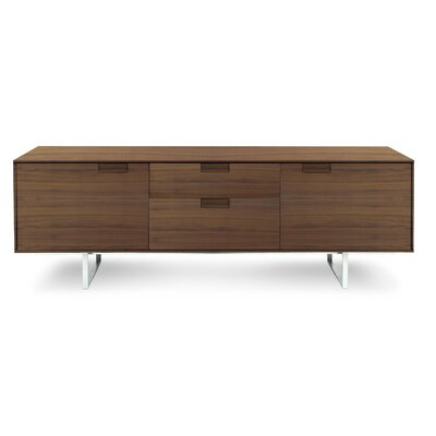 Series 11 Two Drawer TV Stand Wood Finish: Walnut
