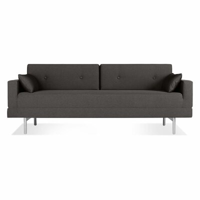 One Night Stand Sleeper Sofa Upholstery: Gunmetal