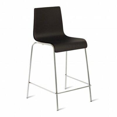 36 Bar Stool Upholstery: Black