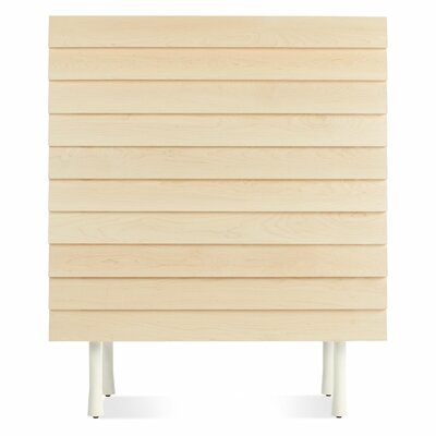 Lap Tall Dresser Color: White