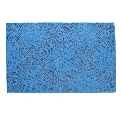 Echo Blue Area Rug Rug Size: 9 x 12