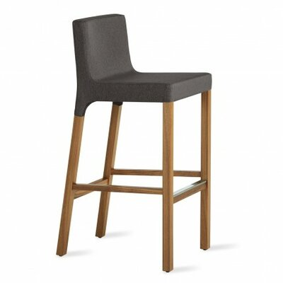 Knicker 31.5 Bar Stool Body Fabric: Gunmetal
