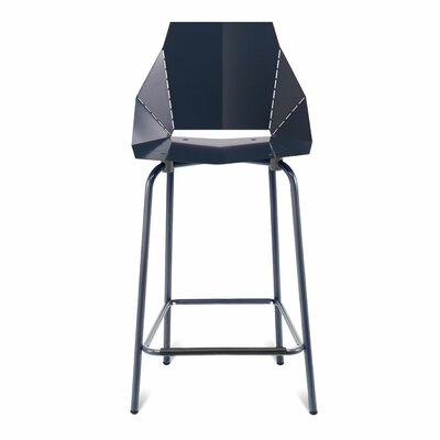 Real Good Counter Stool Body Fabric: Navy