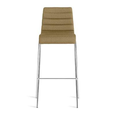 Roy 30.5 Bar Stool Upholstery: Olive