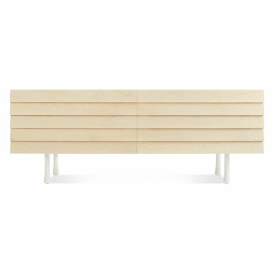 Lap 4 Drawer Dresser Finish: White