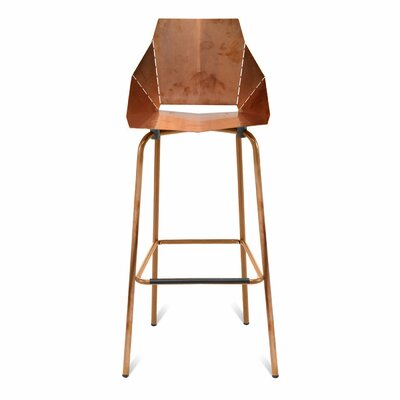 Real Good Bar Stool Body Fabric: Copper