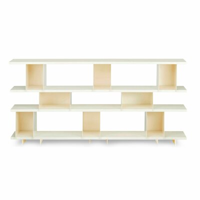 Version 1.0 40'' Shelf Bookcase Finish: Ivory Product Picture 2908