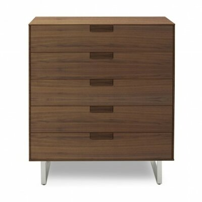 Series Eleven 5 Drawer Dresser Finish: Walnut