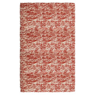 Ratatat Red Area Rug Rug Size: 8 x 10